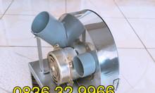 Máy thái hành tỏi bằng motor, BH 12 tháng