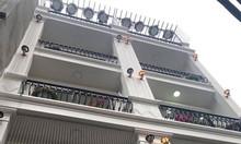 Nhà xây mới gần Lạc Long Quân, thiết kế 6 tầng, 40m2, ngõ thông