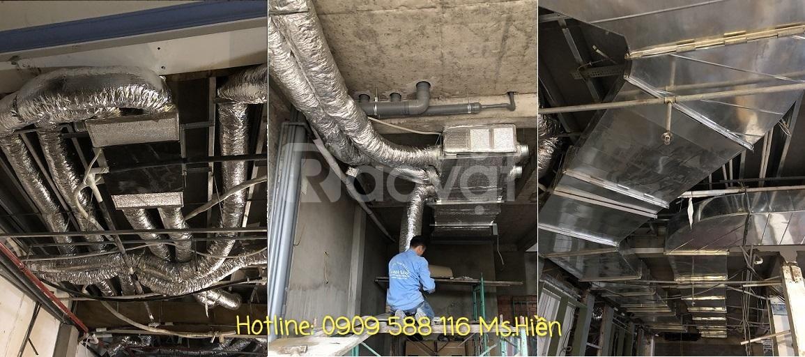 Lắp đặt máy lạnh công nghiệp Daikin cho nhà máy, nhà xưởng