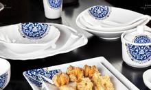 Bát đĩa melamine nâng cấp cho nhà hàng Nhật Hàn