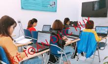 Lớp học phần mềm kế toán thực hành thực tế tại Ninh Bình
