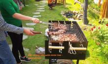 Bếp nướng sân vườn khung thép Acter tree Ck350