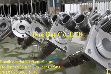 Cung cấp thiết bị công nghiệp – sản xuất khớp nối mềm inox các loại