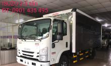 isuzu 3.490 kg thùng Kín, KM máy lạnh, 9 phiếu bảo dưỡng...