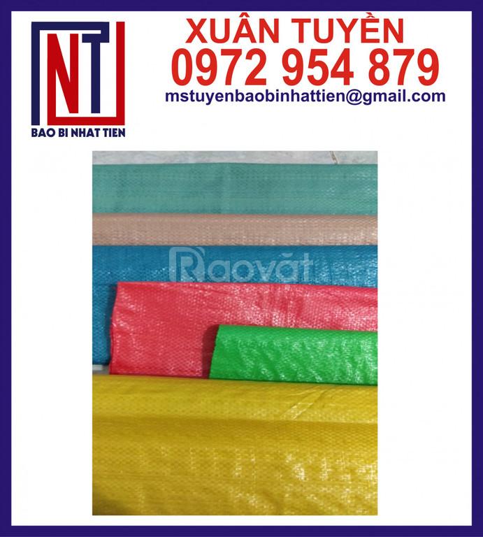 Sản xuất bao PP dệt các màu