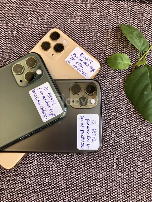 Newlike bản Iphone 11 PROMAX lock 64gb, sạc 0-1 lần, nguyên seal màn