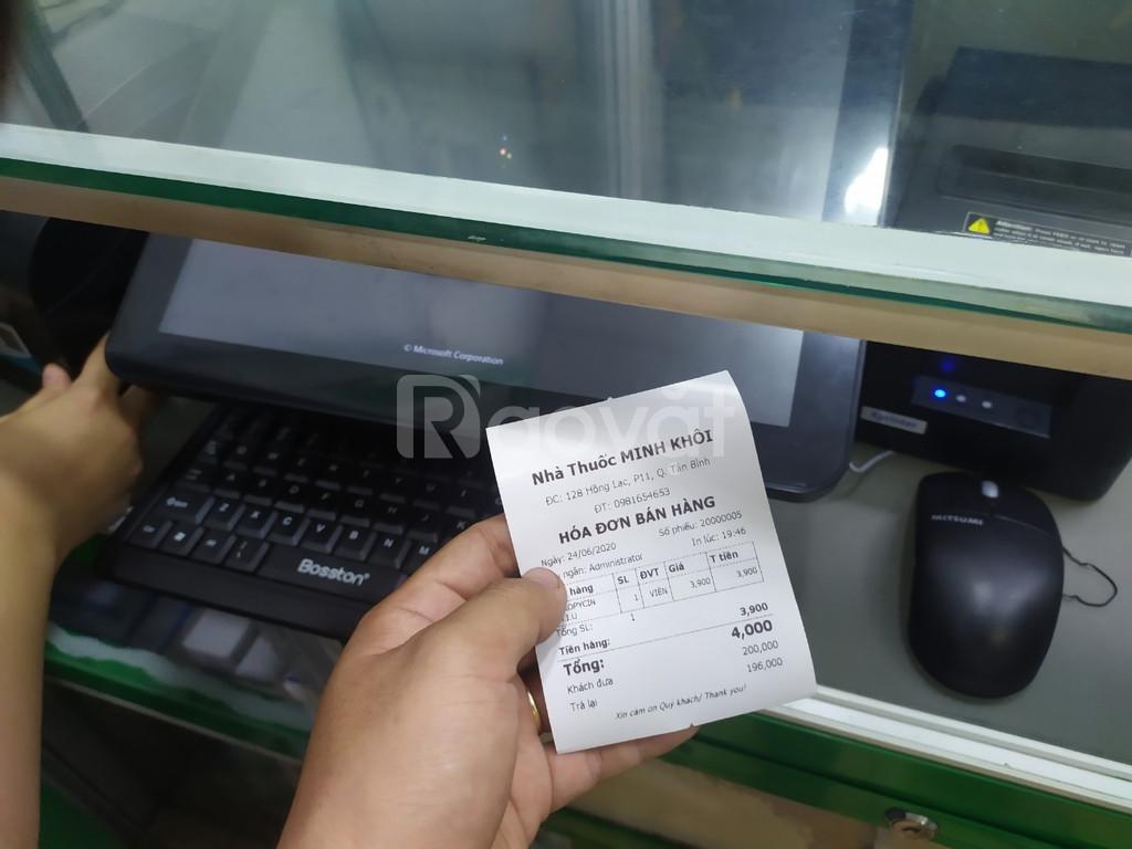 Bộ máy tính tiền chuyên dụng cho Nhà Thuốc - dụng cụ y tế tại BMT