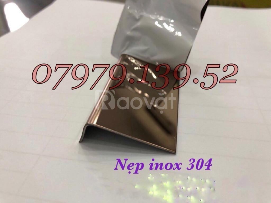 Nẹp v inox 304, nẹp chữ v inox 304, nẹp v inox, nẹp inox chữ v