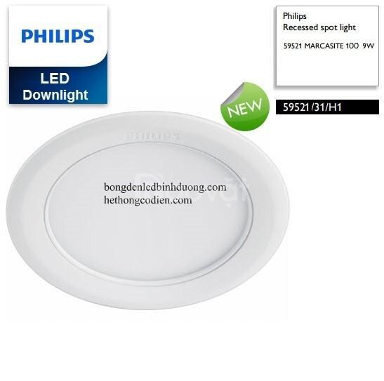 Philips âm trần 9w