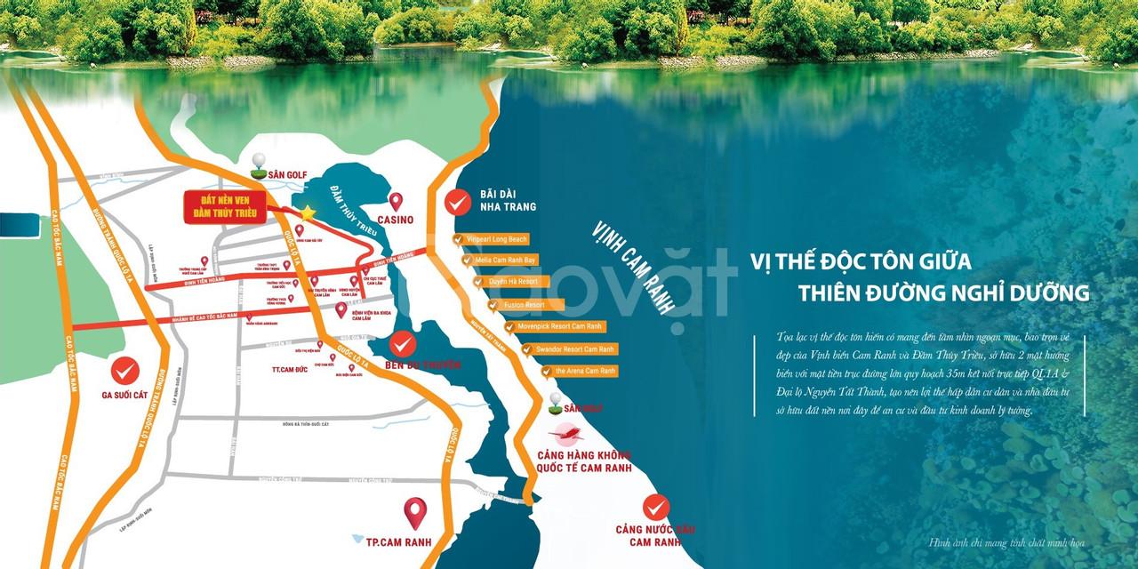 5 Lý do Vàng nên mua đất nền sổ đỏ Đầm Thủy Triều – Bãi Dài - Cam Lâm