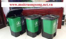 Thùng rác phân loại rác thải 2 ngăn 40l