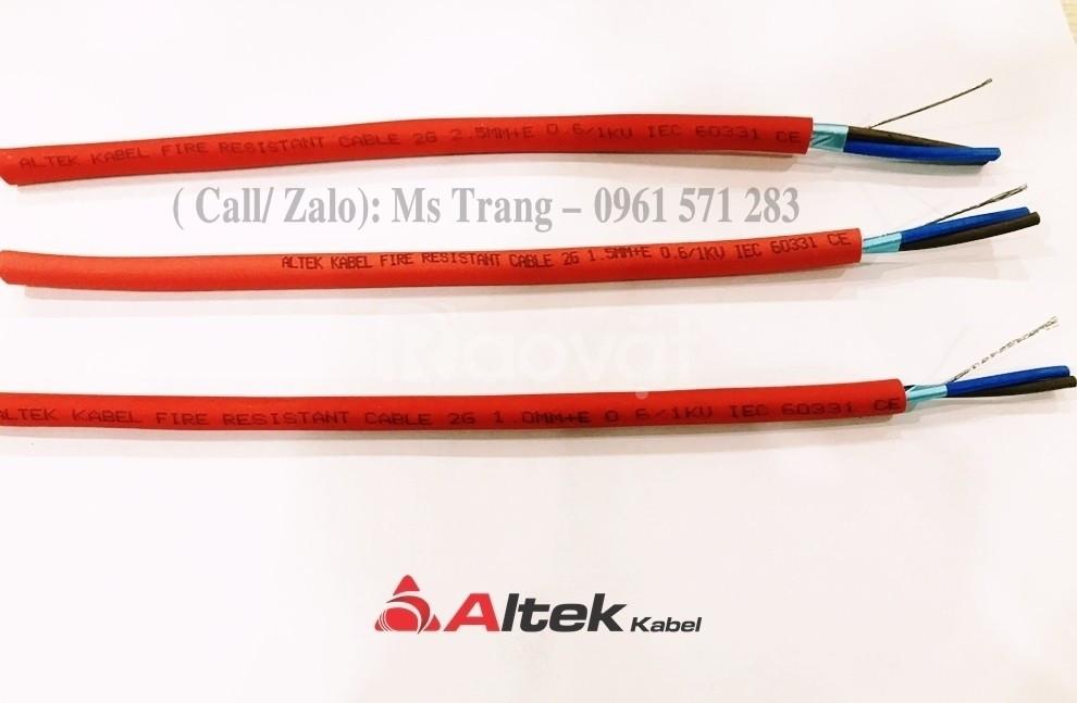 Dây cáp tín hiệu chống cháy, chống nhiễu 2x2.5 hiệu Altek Kabel