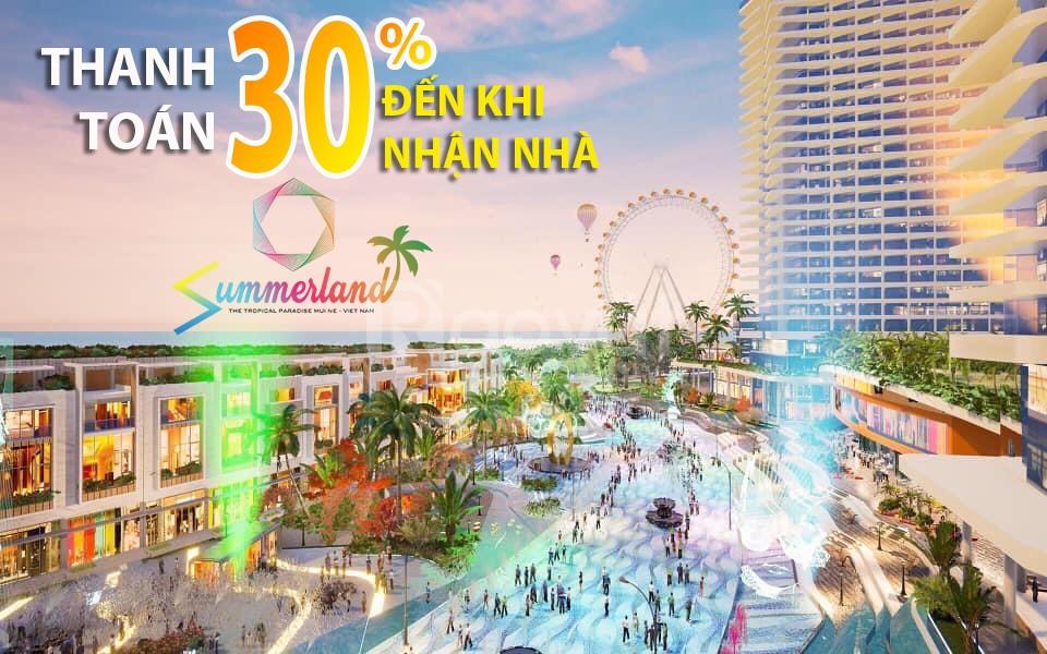 Mở bán nhà phố - biệt thự biển Summerland Phan Thiết