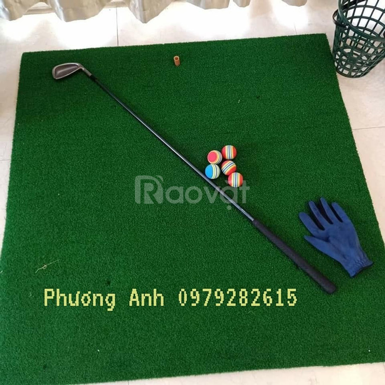 Mua thảm phát bóng golf tặng 5 quả bóng golf (ảnh 3)