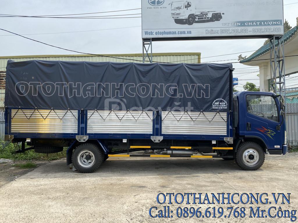 Xe tải faw 7T3| faw 7 tấn 3|xe 7t3 ga cơ máy hyundai thùng dài 6.3m