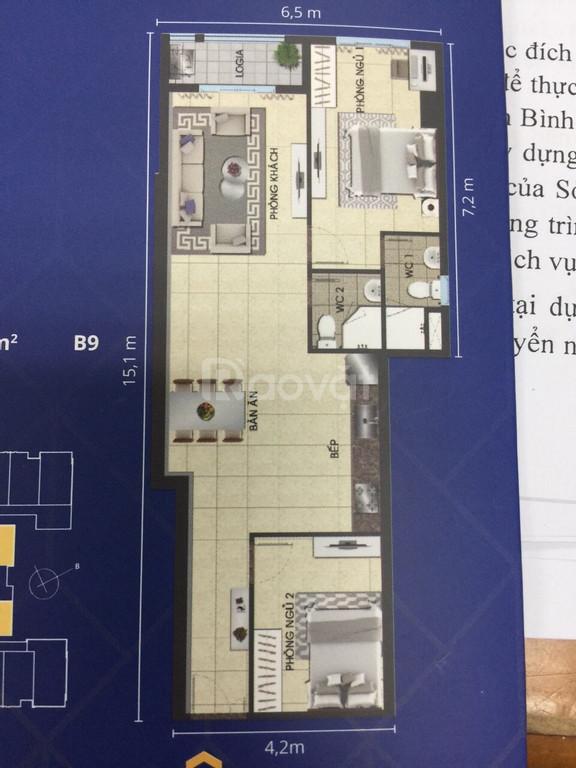 Bán căn hộ chung cư Biconsi chợ Đình, phường Phú Lợi, Thủ Dầu Một