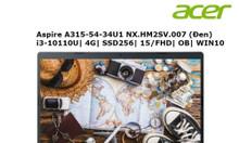 Laptop Acer Aspire A315-54-34U1 (NX.HM2SV.007) Core I3 10110U 4G 256G