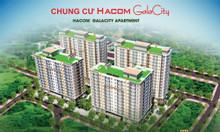 Tung bảng hàng căn Shophouse chung cư Hacom Galacity