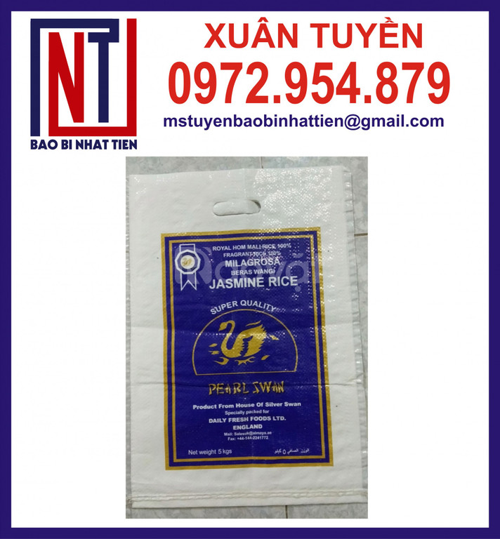 Cung cấp túi gạo loại 5kg
