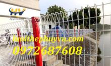 Hàng rào mạ kẽm hàng rào gập tam giác 2 đầu tại tp Hồ Chí Minh
