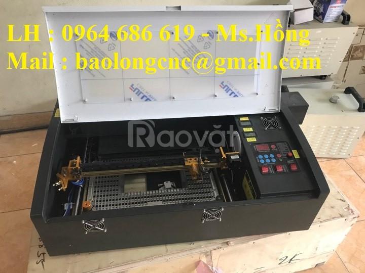 Máy laser 3020 khắc dấu, mica giá rẻ Hồ Chí Minh