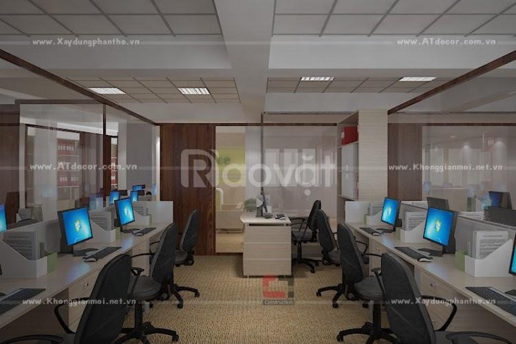 Thiết kế thi công trọn gói văn phòng