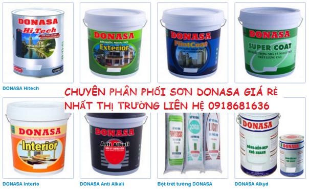 Mua sơn donasa ở đâu tại Long An, địa chỉ chuyên bán sơn donasa