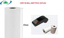 Giấy in bill in nhiệt k57 dùng cho máy POS