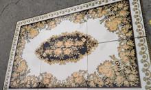 Thảm gạch gạch nền hoa văn chữ nhật