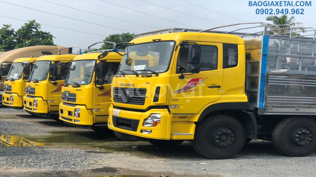 Bán xe 4 chân Dongfeng Hoàng Huy 17.9 tấn xe Dongfeng 4 chân đời 2020