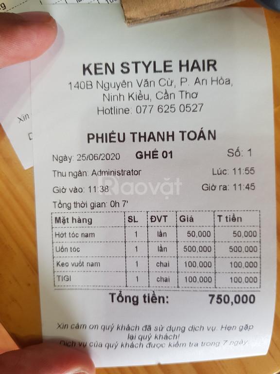 Máy tính tiền dành cho salon tóc tại Cần Thơ giá rẻ (ảnh 6)
