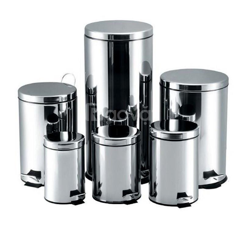 Chuyên kinh doanh thùng rác inox đạp chân 5L,7L,8L,12L,20L,30L cao cấp (ảnh 1)