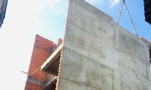 Bán nhà đang hoàn thiện đối diện trường học vào 50m