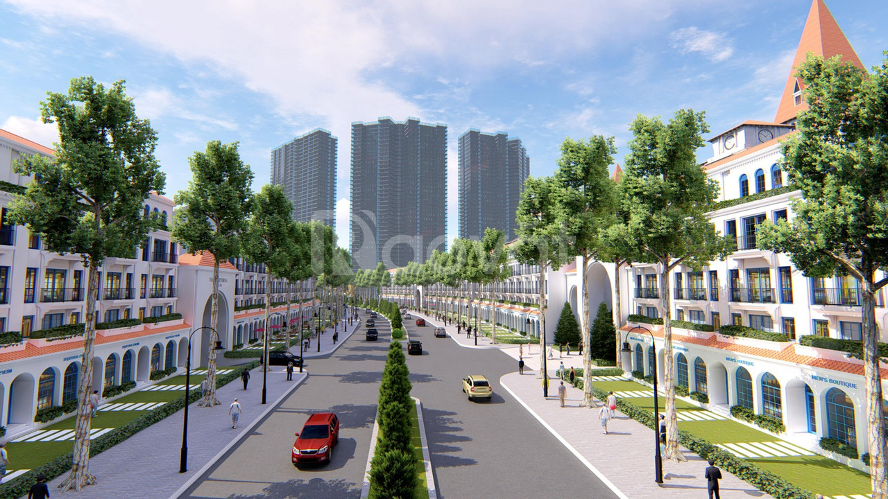 Ra mắt giai đoạn 1 Shophouse đường Nguyễn Văn Huyên qua KĐT Ciputra