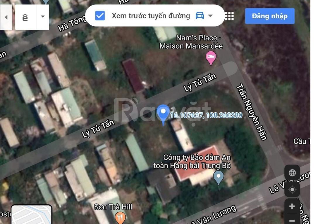 Chính chủ bán 02 lô kẹp đất đường Lý Tử Tấn, Sơn Trà, Đà Nẵng (ảnh 1)