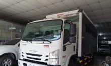 isuzu 5T5 thùng Kín 6.2m, KM máy lạnh, 9 phiếu bảo dưỡng...