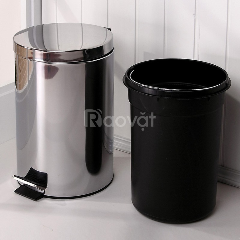 Chuyên kinh doanh thùng rác inox đạp chân 5L,7L,8L,12L,20L,30L cao cấp (ảnh 5)