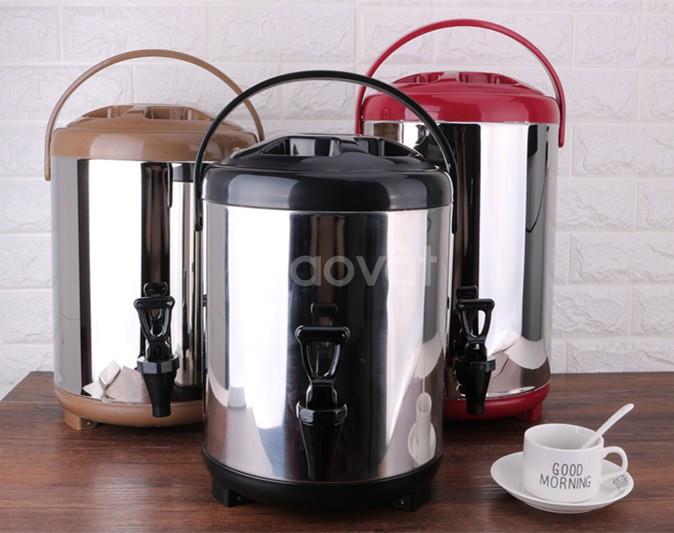 Cửa hàng bán bình ủ trà sữa giá rẻ ở Gò Vấp