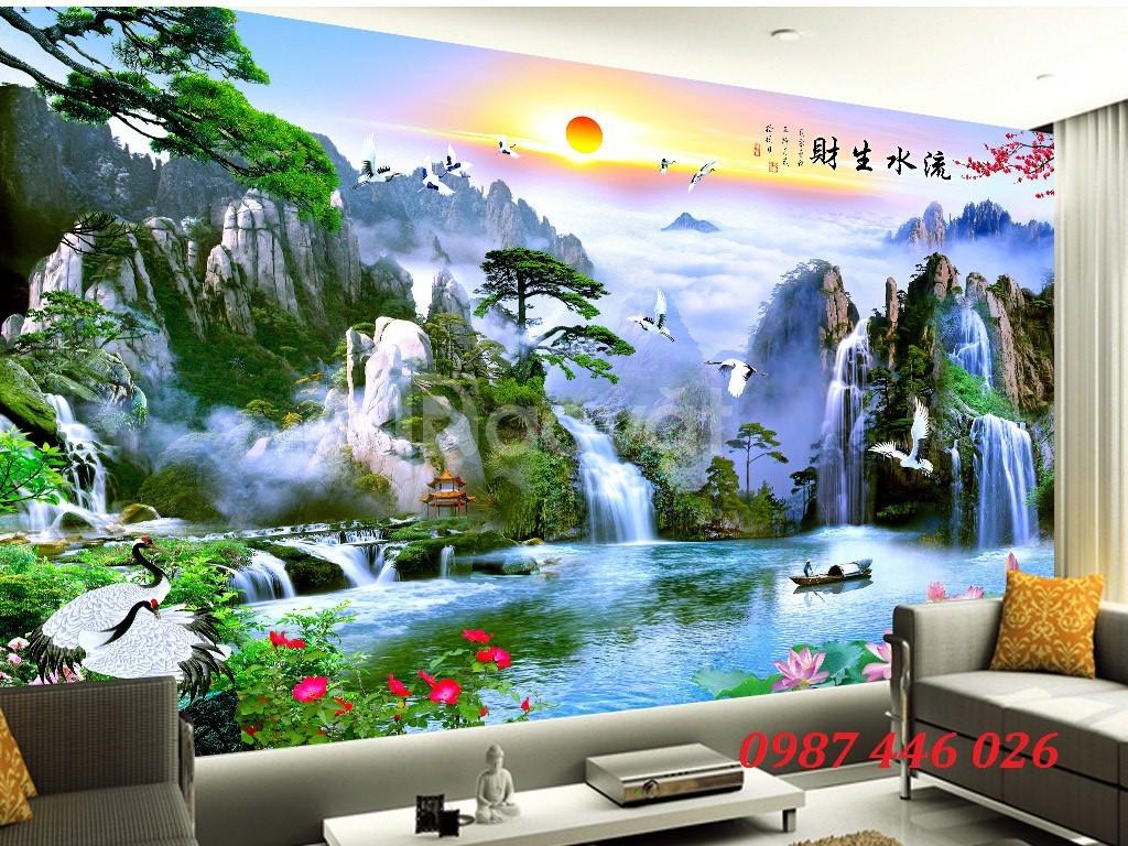Gạch tranh dán tường, tranh 3d, tranh trang trí