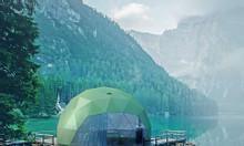 Cung cấp nhà lắp ghép bán cầu 28m2 (Dome House) cho dịch vụ du lịch