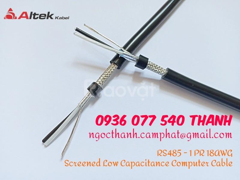 RS485 1P18AWG, Altek Kabel, cáp tín hiệu / cáp mạng công nghiệp RS-485