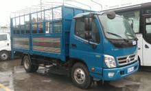 Xe tải Thaco Ollin 500 lắp bửng nâng hạ tại Hải Phòng