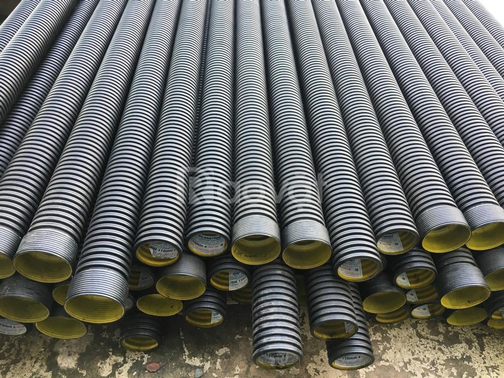 Ống HDPE gân xoắn thành đôi 110 Bình Minh