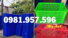 Sọt nhựa đựng hàng may mặc, sọt nhựa kéo hàng cồng kềnh (ảnh 5)