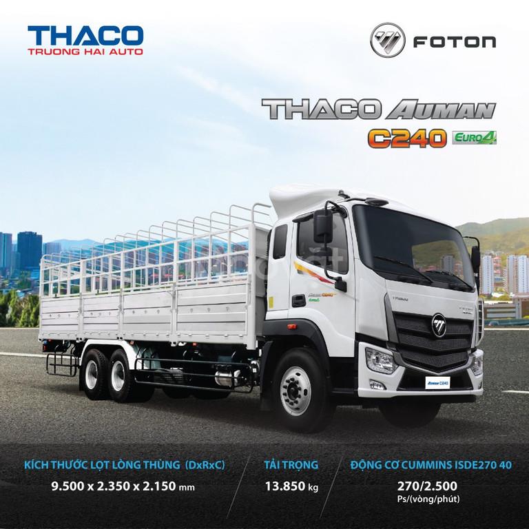 Xe tải thaco kia AuMan C240 Tải trọng 24T