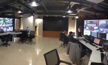 Màn hình ghép video wall cho phòng điều hành tại các nhà máy
