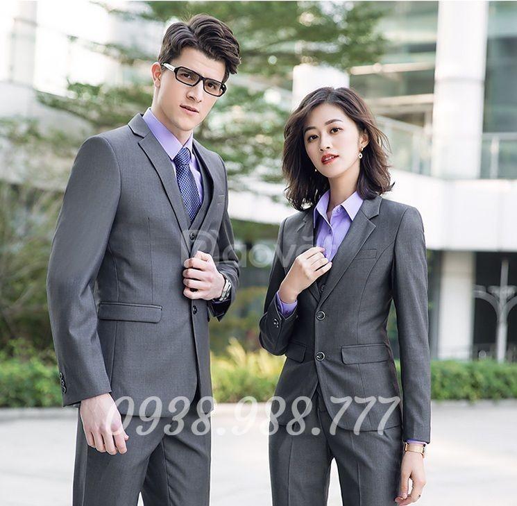 May đồng phục quản lý