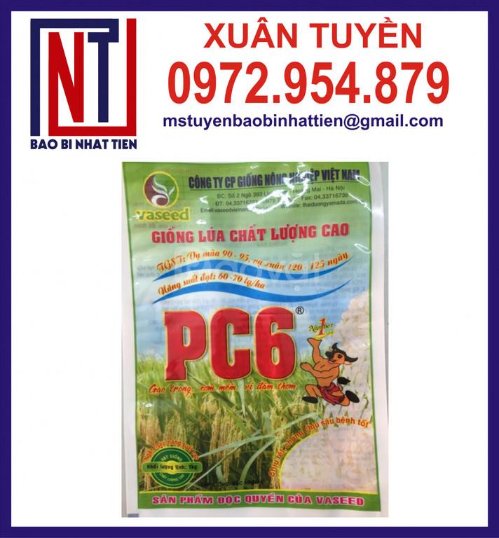 Chuyên in túi đựng lúa giống 1kg (ảnh 8)