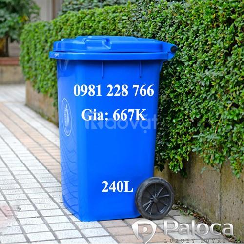 Giá bán thùng rác 60l