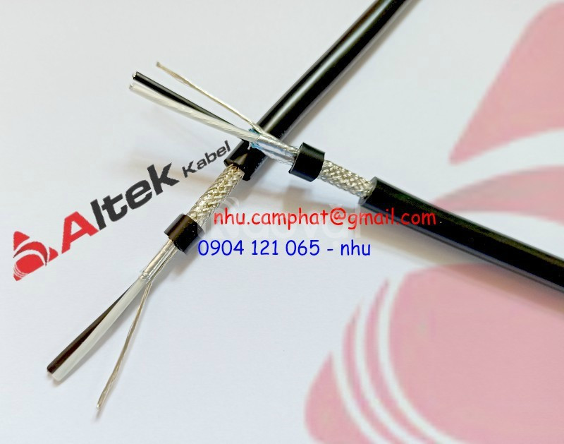 Cáp xoắn, cáp tín hiệu, cáp điều khiển RS485 Altek Kabel